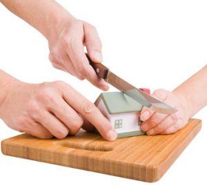 разделяне на имуществото при развод
